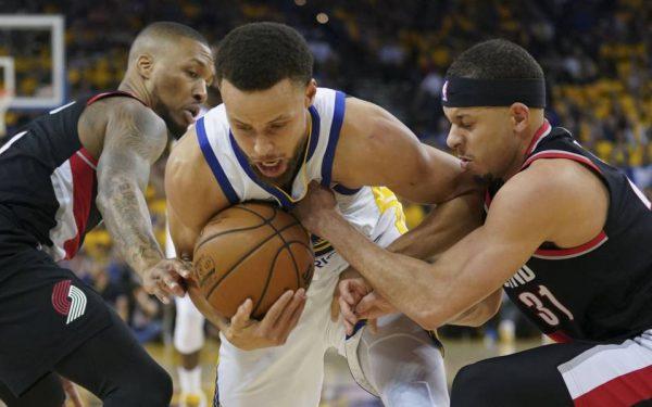 Stephen Curry y Golden State no dan respiro a Portland